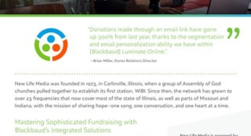 Mastering Sophisticated Fundraising