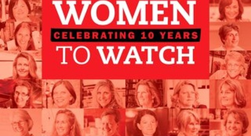 Women to Watch Alumni Magazine