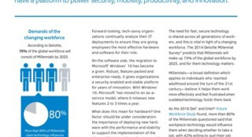 Windows 10 Migration: IDC Whitepaper