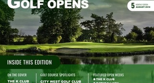 Golf Opens 2017/18 Digital Magazine - Issue 5