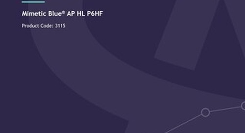 Mimetic Blue AP HL P6HF - Technical User Guide