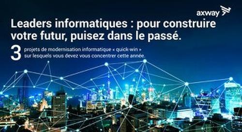 Leaders Informatiques : Pour Construire Votre Futur, Puisez Dans Le Passé.