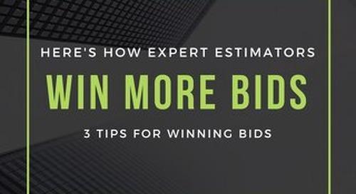 Here's How Expert Estimators Win More Bids