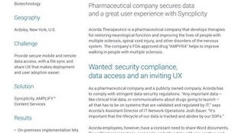 Acorda Therapeutics