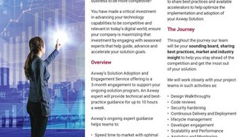 Axway's Solution Adoption and Engagement Services