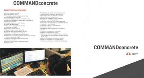 COMMANDconcrete - Spanish