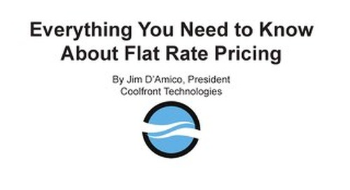 Everything you need to know about flat rate pricing