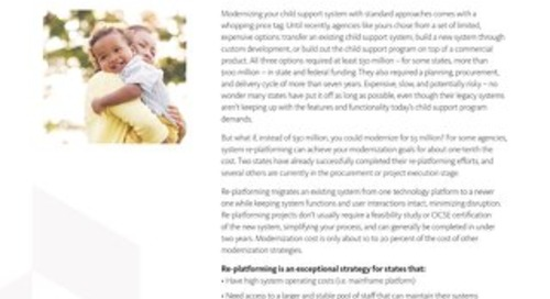 Child Support System Replatforming
