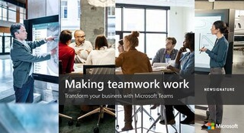Transform your Business with Microsoft Teams Guidebook