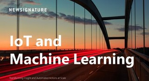 eBook: Transforming Insight and Automated Actions at Scale-IoT and Machine Learning