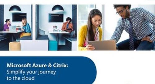 Citrix and Microsoft Ebook 2018
