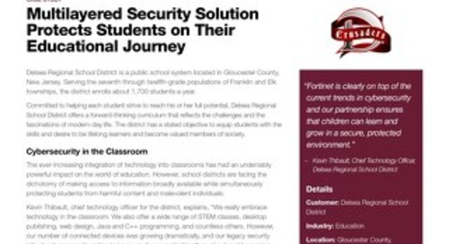 Case Study: Multi-Layered Security Solution Protects Students on Their Educational Journey