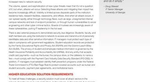 Securing the Campus with Fortinet's Security Solutions for Higher Education
