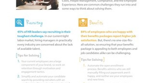 Common HR Challenges and How to Solve Them