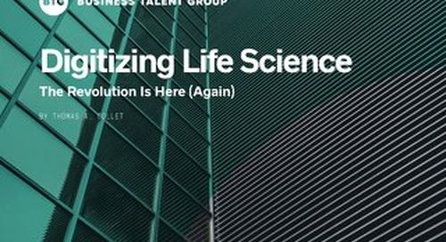 Digitizing Life Sciences: The Revolution Is Here (Again)