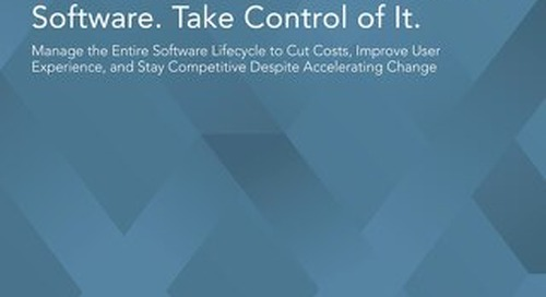 Auto OEMs: Don't Just Own the Software. Take Control of It.