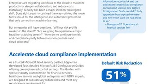 Simplifying Microsoft 365 control settings for reduced risk in the cloud