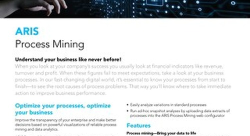 Facts about ARIS Process Mining