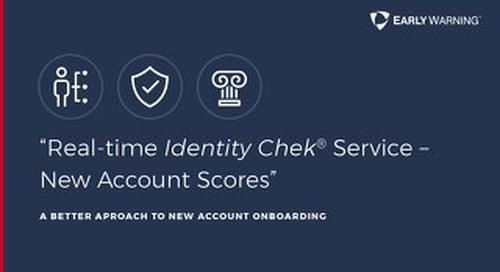 New Account Scores Quick Facts