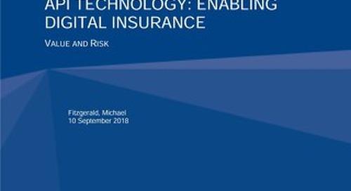 API Technology: Enabling Digital Insurance