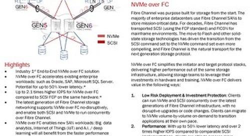 Lenovo NVMe Over Fibre Channel