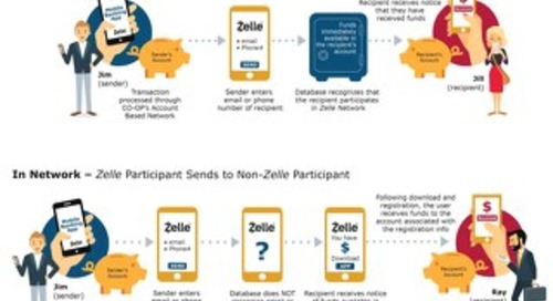 Zelle InfoGraphic Mobile Banking App