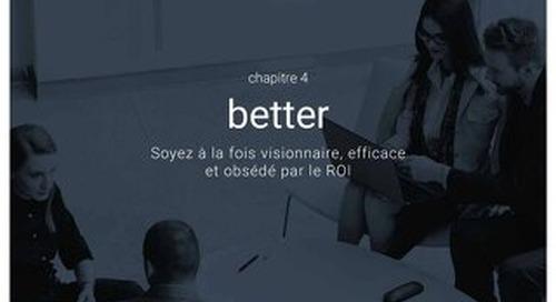 Impact business des RH - Chapitre 4 - Better - Soyez à la fois visionnaire, efficace et obsédé par le roi