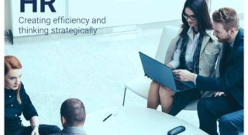 High impact HR - Creating efficiency and thinking strategically