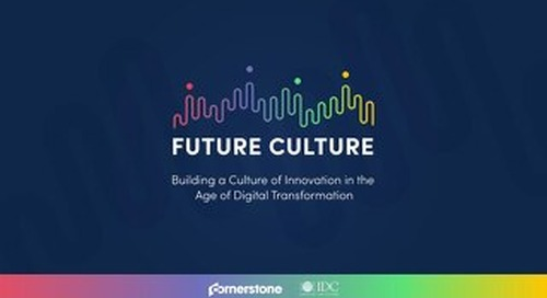 Future Culture - Building a Culture of Innovation in the Age of Digital Transformation