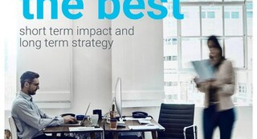 Attracting the best - Short term impact and long term strategy