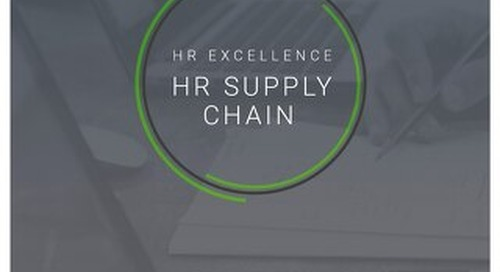 HR Supply Chain - Driving optimisation and excellence in HR