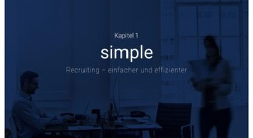 Nur die Besten an Bord holen - Simple - Recruiting - Einfacher und effizienter