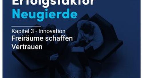 Erfolgsfaktor Neugierde - Kapitel 3 - Innovation - Freiräume schaffen Vertrauen
