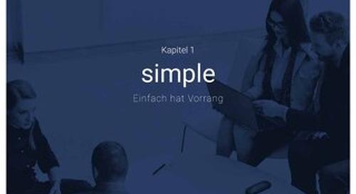 Einfach hat vorrang - Simple