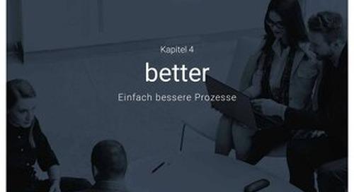 Einfach bessere Prozesse - Better