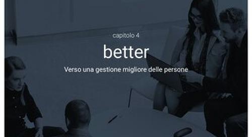 Aumentare l'impatto delle HR sul business - Capitolo 4 - Better - Verso una gestione migliore delle persone