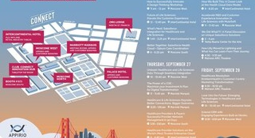 Healthcare Guide to Dreamforce