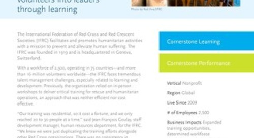 Case Study - IFRC