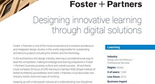 Case Study - Foster + Partners