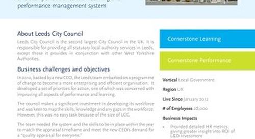 Case Study - Leeds City Council
