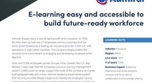 Case Study ADMIRAL GROUP