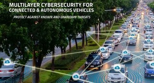 Brochure: Cybersecurity for Connected and Autonomous Vehicles