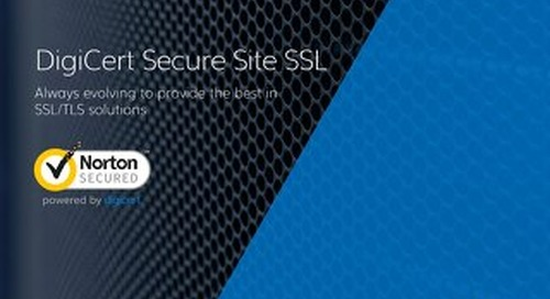 DigiCert Secure Site SSL