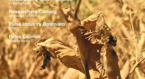 APG, Pulse Crop News Fall 2018 Issue