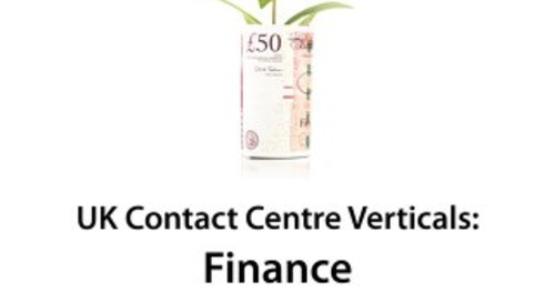 UK Contact Centre Vertical Markets: Financial Services