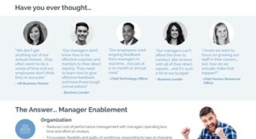 Manager Enablement