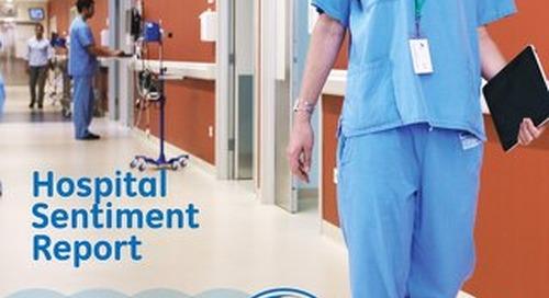GE Capital Hospitals Sentiment Report