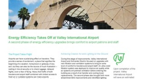 Energy Efficiency Takes Off at Valley International Airport