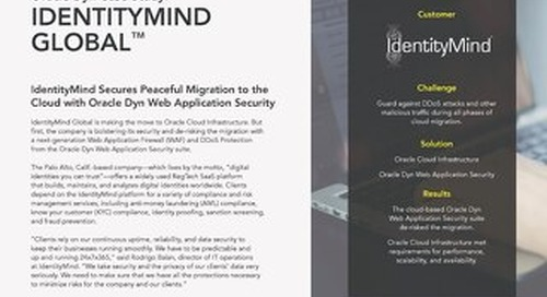 Case Study: IdentityMind Global