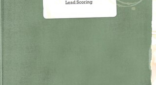 Oracle: the grand guide to lead scoring